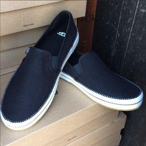 ❤️New Ugg Bren Black Mesh upper sneakers shoes 10